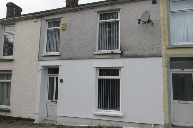 Thumbnail Terraced house for sale in North Street, Penydarren, Merthyr Tydfil