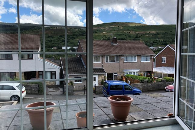 Thumbnail Detached bungalow for sale in Heather Way, Porth