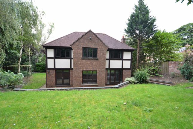 Thumbnail Detached house to rent in Wilmslow Park South, Wilmslow