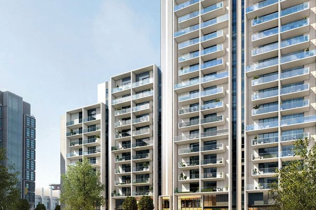 Thumbnail Property for sale in Pienna Apartments, Alto, Exhibition Way, Wembley