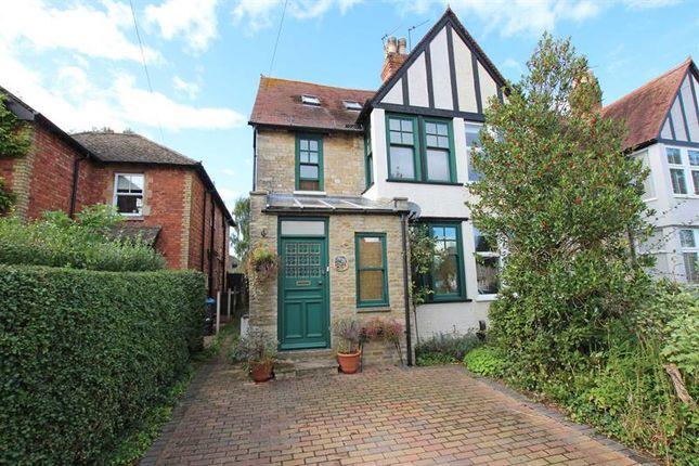 Thumbnail End terrace house for sale in Woodstock Road, Witney