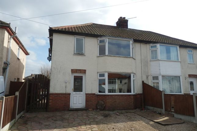 Thumbnail Semi-detached house for sale in Valley Road, Harwich