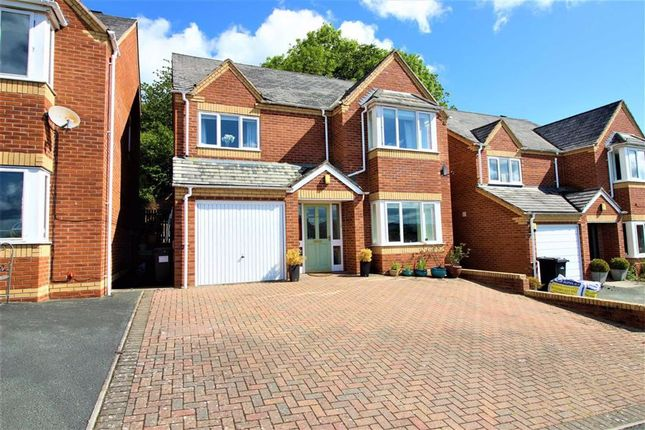 Thumbnail Detached house for sale in 28, Brynfa Avenue, Welshpool, Powys