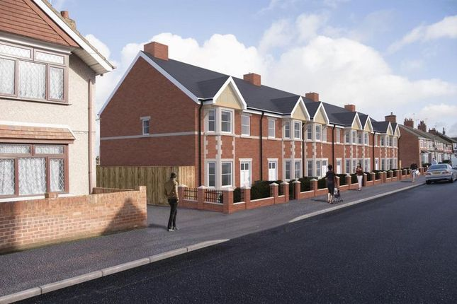 Thumbnail End terrace house for sale in Euclid Street, Swindon