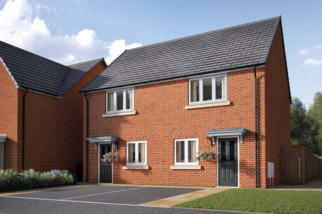 "Thumbnail Semi-detached house for sale in ""The Harcourt"" at Poppy Drive, Sowerby, Thirsk"