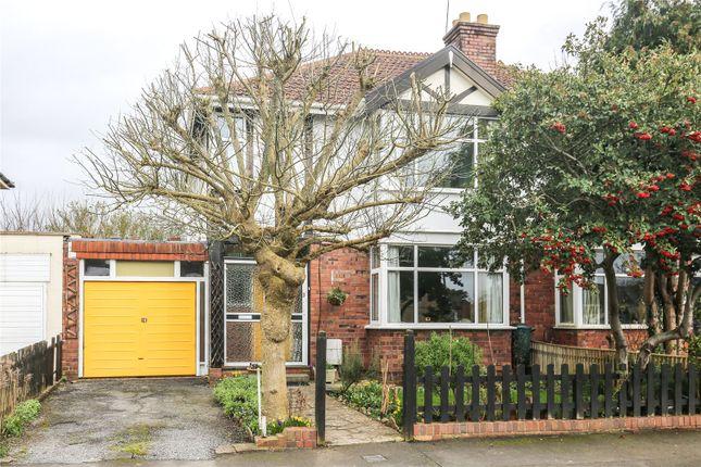 Thumbnail Semi-detached house for sale in Charis Avenue, Westbury-On-Trym, Bristol
