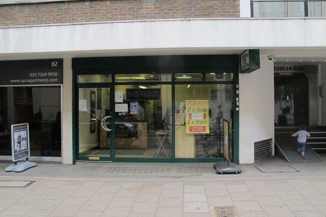Thumbnail Retail premises to let in Lambs Conduit Street, London