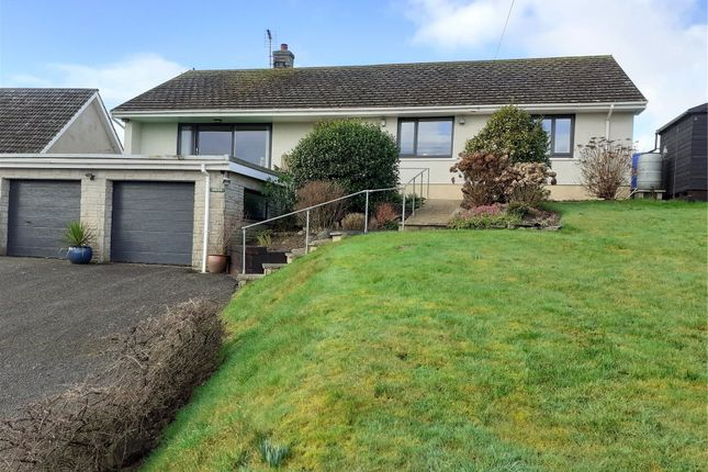 4 bed bungalow for sale in Oneida, Chapel Road, Keeston, Haverfordwest SA62