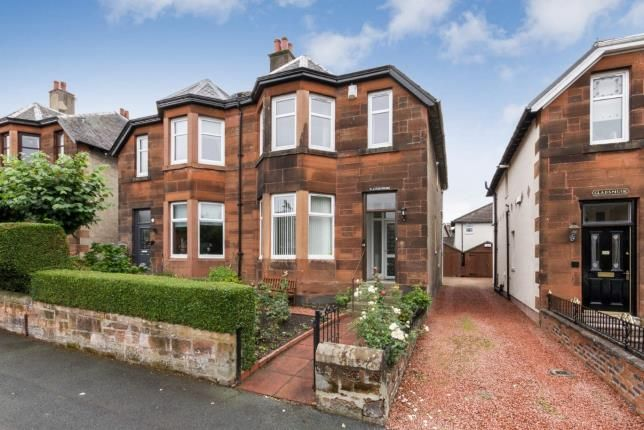 Thumbnail Semi-detached house for sale in Dunbeth Avenue, Coatbridge, North Lanarkshire, United Kingdom
