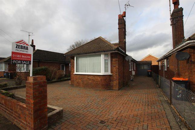 Thumbnail Bungalow for sale in Leafields, Houghton Regis, Dunstable