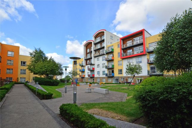 Communal Gardens of Holly Court, Greenroof Way, Greenwich, London SE10