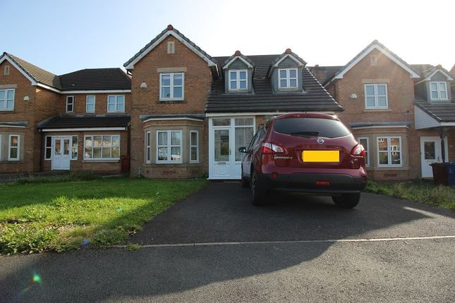 Thumbnail Detached house to rent in Seacole Close, Guide, Blackburn