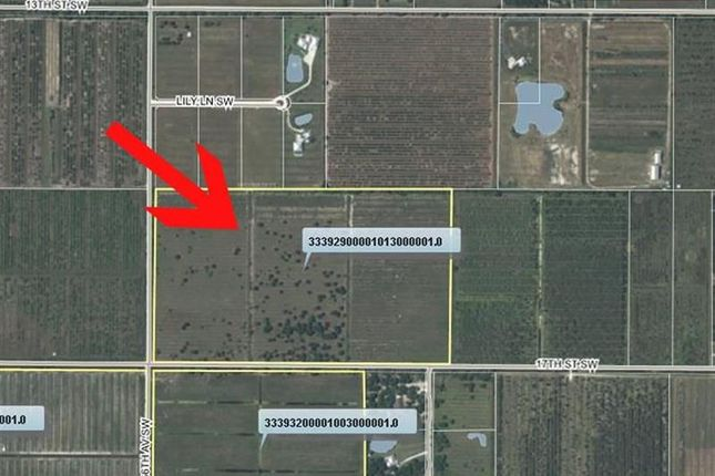 Thumbnail Land for sale in 6500 17th St Sw, Vero Beach, Florida, United States Of America