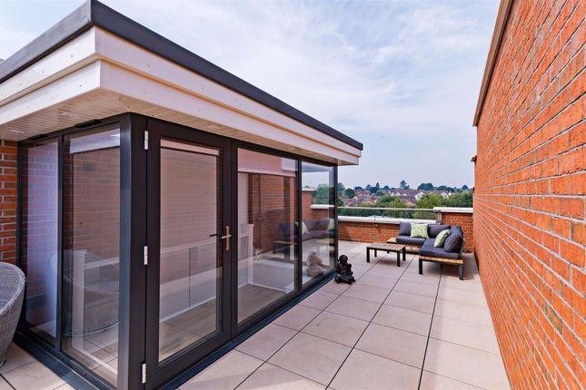 Roof Garden of Primrose Terrace, St. Michaels Street, Shrewsbury SY1