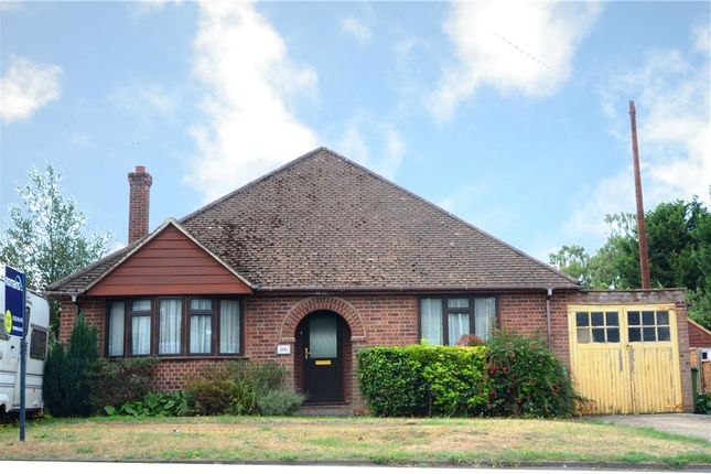 Thumbnail Detached bungalow for sale in Yeovil Road, College Town, Sandhurst