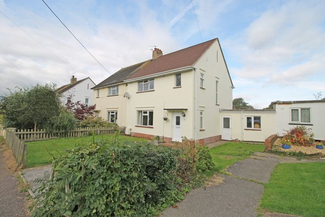 Thumbnail Semi-detached house for sale in Parkway, Woodbury, Exeter