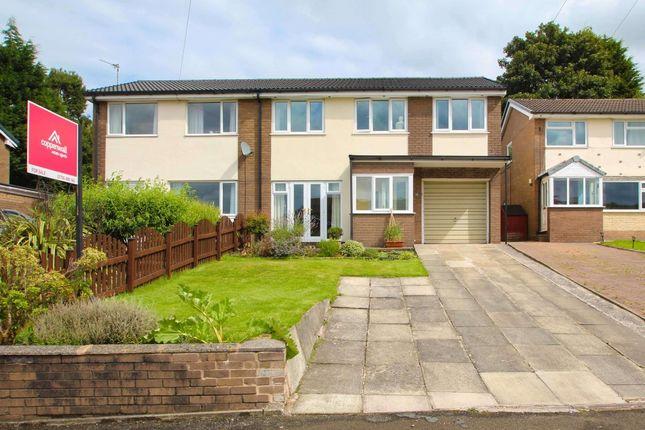 Thumbnail Semi-detached house for sale in Dobbin Close, Rawtenstall, Rossendale