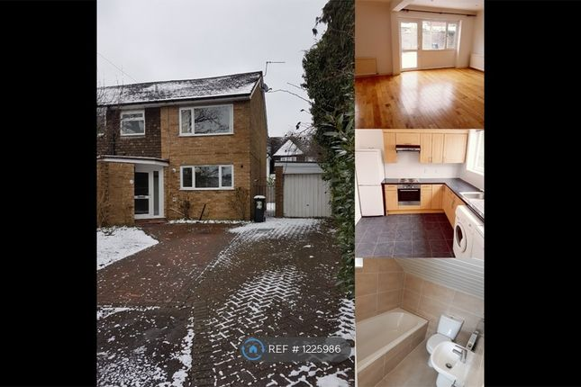 Thumbnail Semi-detached house to rent in Foxfield Close, Northwood