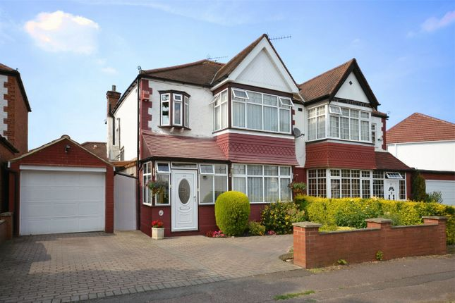 Thumbnail Semi-detached house for sale in Holt Road, North Wembley, Middlesex