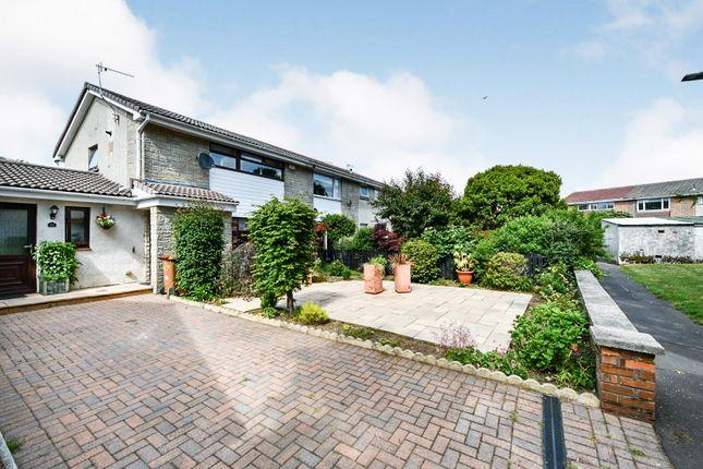 Thumbnail End terrace house for sale in Ravenscroft, Irvine