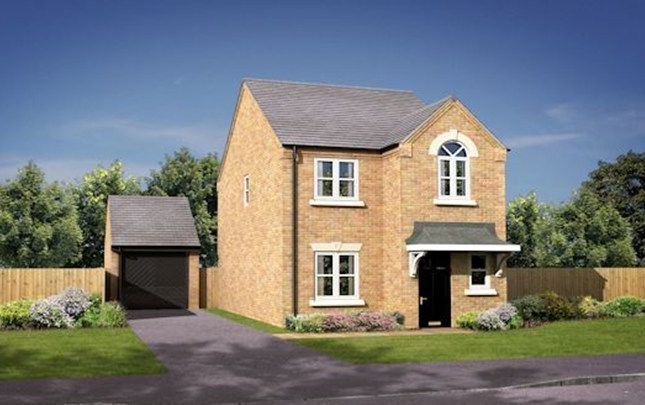 Thumbnail Detached house for sale in The Didsbury, William Nadin Road, Swadlincote, Derby