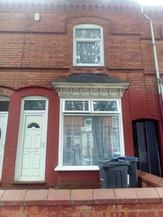 Thumbnail Terraced house to rent in Pretoria Road, Birmingham