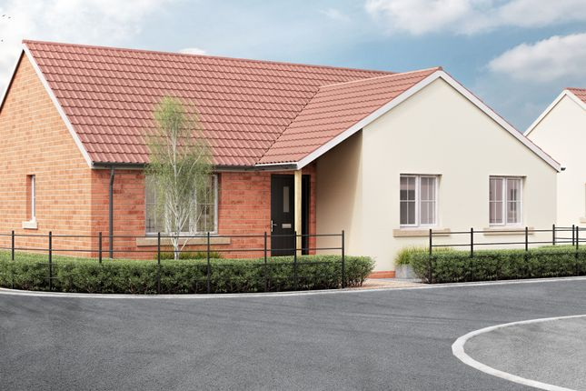 Thumbnail Detached bungalow for sale in West Road, Lympsham