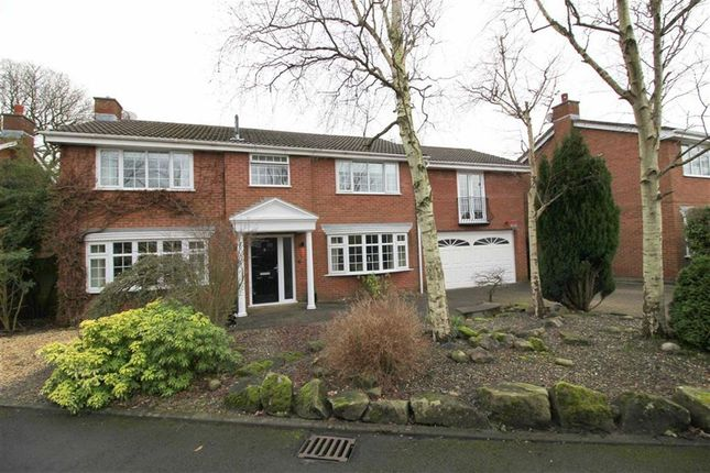 Thumbnail Detached house for sale in Manor Court, Fulwood, Preston