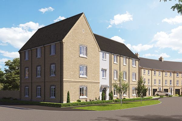 Thumbnail Flat for sale in Off Norwich Road, Thetford