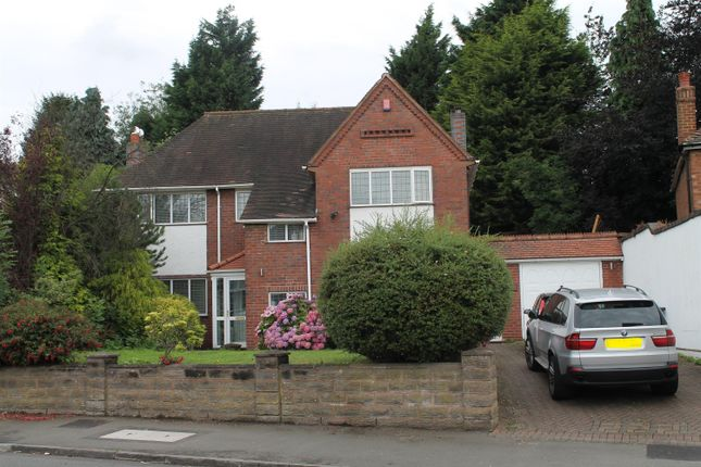 Thumbnail Detached house for sale in Wood Lane, Handsworth Wood, Birmingham