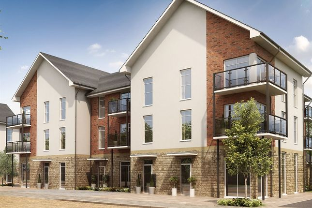 "Thumbnail Flat for sale in ""Lutyens Apartments"" at Hob Close, Monkton Heathfield, Taunton"