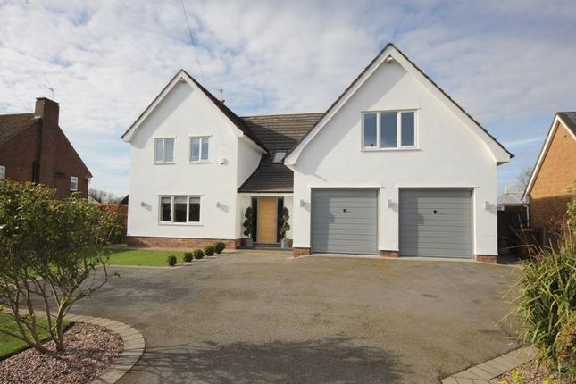 Thumbnail Detached house for sale in Birchway, Gayton, Wirral