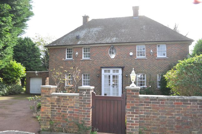 Thumbnail Detached house for sale in Alfriston Close, Eastbourne