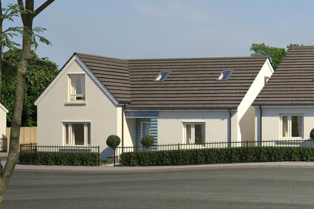 Thumbnail Detached bungalow for sale in Godrevy Parc, Hayle, Cornwall