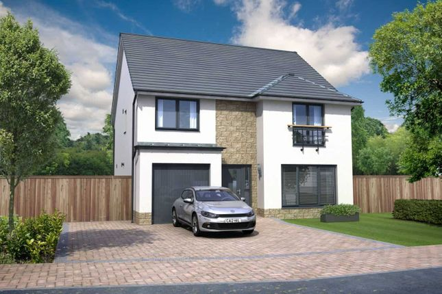 "Thumbnail Detached house for sale in ""Everett Grand"" at Ocein Drive, East Kilbride, Glasgow"