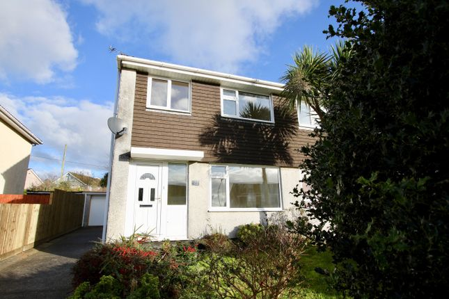 Thumbnail Semi-detached house to rent in Symons Close, St Austell