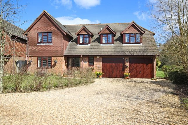 Thumbnail Detached house for sale in St. Johns Road, Bashley, New Milton