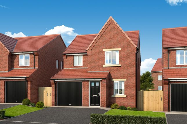 """Thumbnail Detached house for sale in """"The Redwood"""" at Dunblane Crescent, West Denton, Newcastle Upon Tyne"""