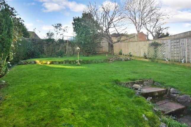 Rear Garden of Barcombe Road, Preston, Paignton, Devon TQ3