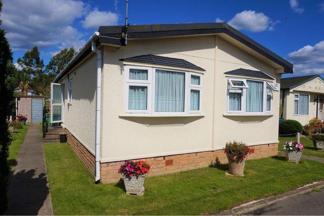 Thumbnail 2 bed mobile/park home for sale in Shenley Park, Ashford