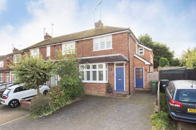 Thumbnail End terrace house to rent in Weybourne Close, Harpenden