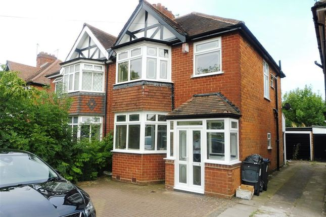 Thumbnail Semi-detached house to rent in Wake Green Road, Moseley, Birmingham