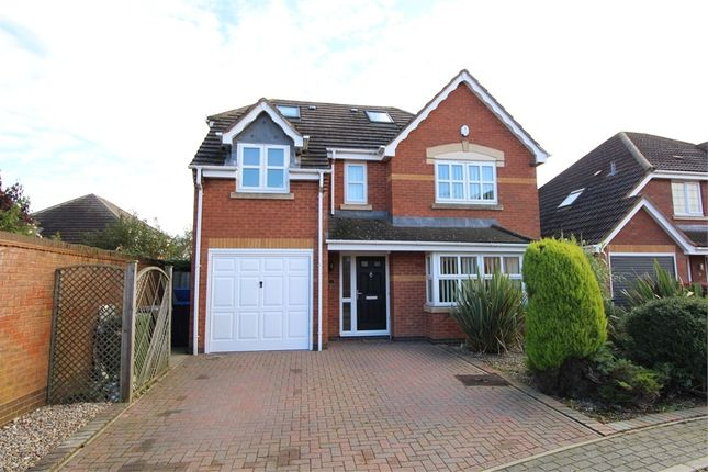 Thumbnail Detached house for sale in Forsythia Close, Lutterworth