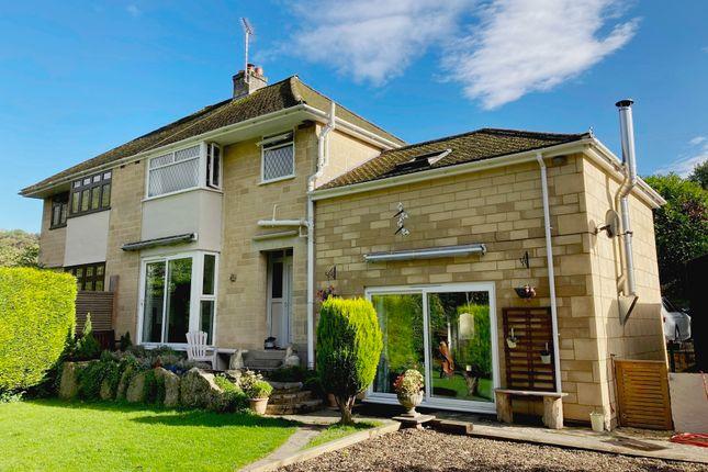 Thumbnail Semi-detached house for sale in Deadmill Lane, Larkhall, Bath