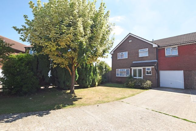 Thumbnail Link-detached house for sale in Corral Close, Chatham