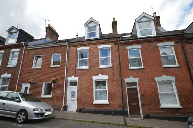 Thumbnail Terraced house to rent in Portland Street, Newtown, Exeter