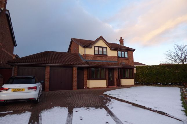 Thumbnail Detached house for sale in Orpine Court, Ashington