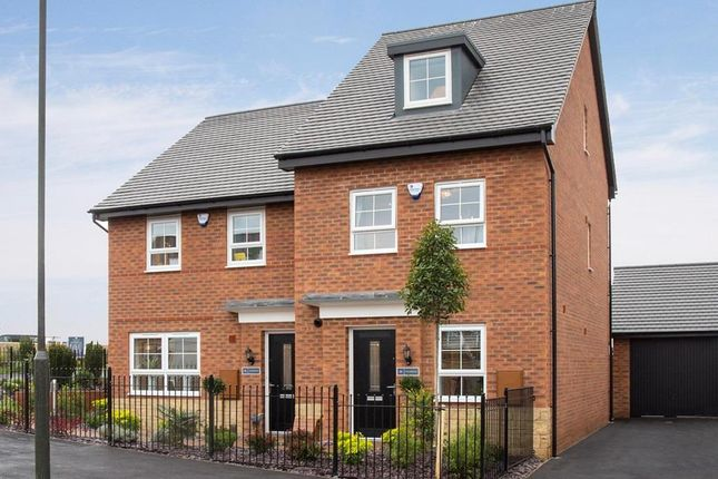 "Thumbnail End terrace house for sale in ""Woodcote"" at Ponds Court Business, Genesis Way, Consett"