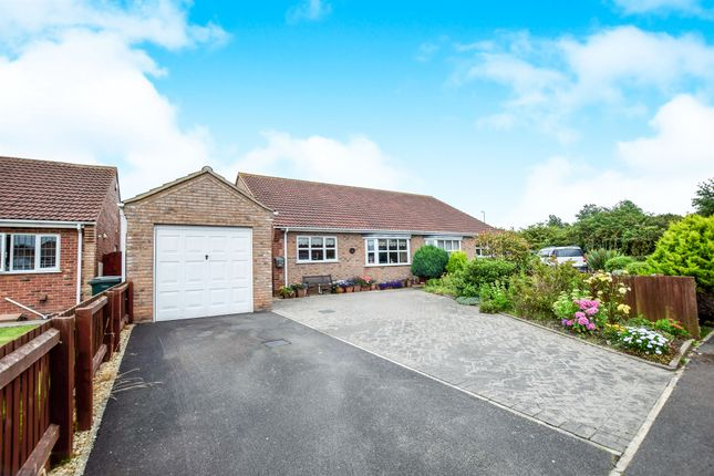 Thumbnail Semi-detached bungalow for sale in Barton Close, Trusthorpe, Mablethorpe