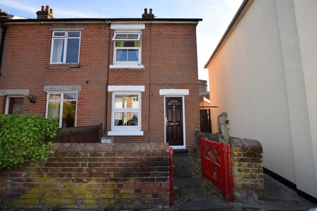 Thumbnail End terrace house for sale in Colne Road, Halstead